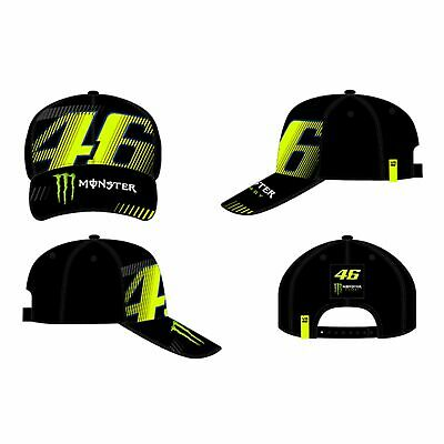 VR46 Valentino Rossi 46 Monster Adjustable Cap - Monza Black