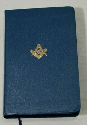Masonic Edition Holy Bible H L Haywood Taplow Lodge 3111 Thames Hospice B 102A