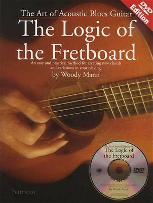 The Logic of the Fretboard Guitar TAB Music Book/DVD Art of Acoustic Blues
