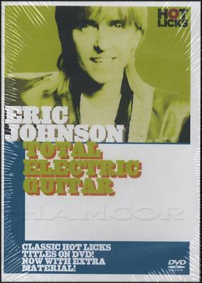 Eric Johnson Total Electric Guitar Tuition DVD Learn How To Play