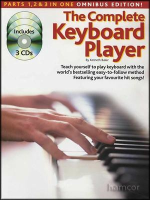The Complete Keyboard Player Omnibus Edition Book/3CDs (Books 1,2,3) Method