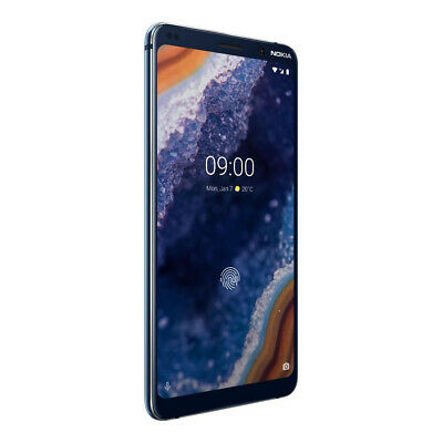 "New Nokia 9 PureView Blue 5.99"" 128GB LTE Android 9 Sim Free Unlocked"