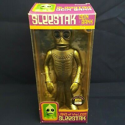 Funko Land Of The Lost Sleestak Coin Bank Gold Limited Edition No. 3 Of 24 Made