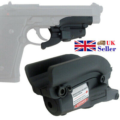 Hunting Precision Red Laser Sight Grooves Lateral For Pistol Mini Black Portable