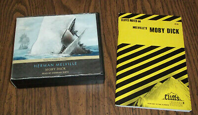 Unabridged (20 CDs/25 Hours) Audio Book Moby Dick Herman Melville & Cliffs Notes