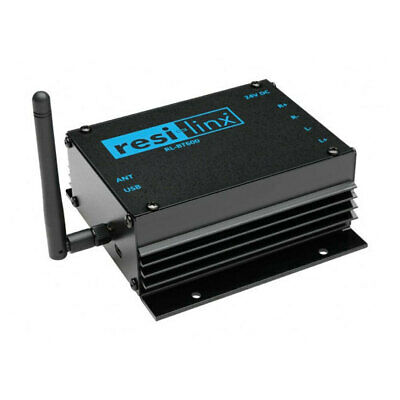 RMS Compact Stereo Amplifier RESI-LINX 50W AMP Bluetooth Receiver for Speakers