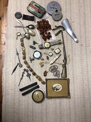 Joblot Of Vinage Curios And Costume Jewellery