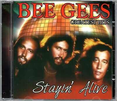 Bee Gees CD Greatest Hits Stayin' Alive Brand New Sealed Made In Brazil Rare
