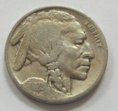 1923 Buffalo Nickel - Indian Head *Full Date Early US 5 Cents