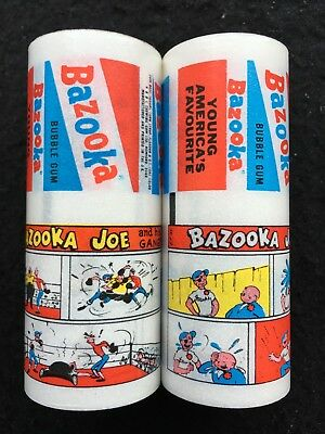 A&BC Early 60's Bazooka Joe Wax Gum Wrappers Factory Uncut Set of 14 Comics