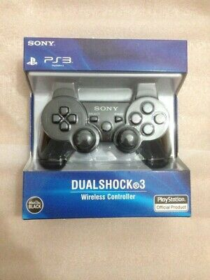 PS3 Playstation 3 Wireless Dualshock 3 SIXAXIS Control for Sony NEW Black