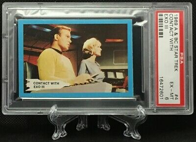 1969 Star Trek CONTRACT WITH EXO III #4 EXCELLENT-MINT 6 - A&BC garno PSA