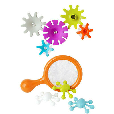 Boon 5pc Cogs Water Gears Building Bath Toy Floating Bugs for Baby Kids Play