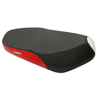 Seat in Black and Red for Sinnis Harrier 125 EFI ZN125T-22E 17-19