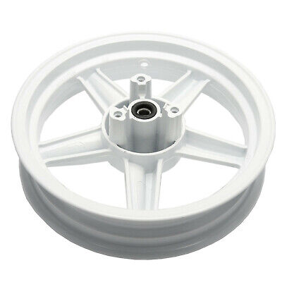 Front Wheel Complete With Bearings & Seals in White for Sinnis Harrier 125 13-17