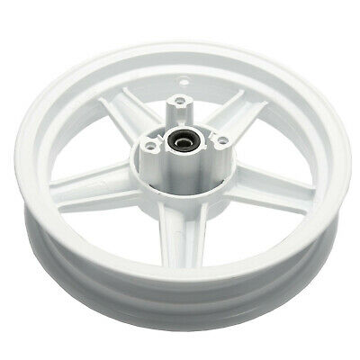 Front Wheel Complete With Bearings & Seals in White Sinnis Harrier 125 EFI 17-19