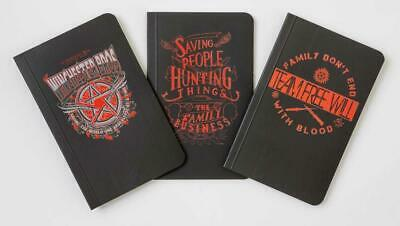 Supernatural Pocket Notebooks Collection (Set of 3) [Simon + Schuster Inc.]