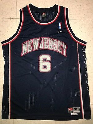 38d206290df Kenyon Martin Men's XL Nike Swingman Throwback New Jersey Nets NBA Jersey