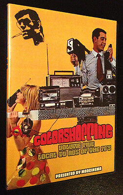 COLORSHOPPING VOL.5 (Local TV Ads of the 70's) advertising commercials