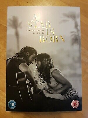 A Star is Born  [2018] (DVD) Bradley Cooper, Lady Gaga, watched once