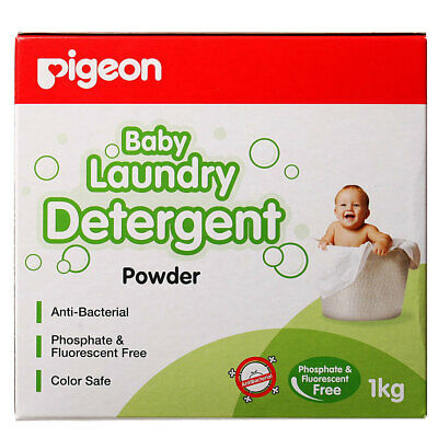 Pigeon 1kg Laundry Detergent Powder for Baby Infant Kids Sensitive Skin Clothes