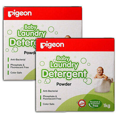 Pigeon 2kg Laundry Detergent Powder for Baby Infant Kids Sensitive Skin Clothes