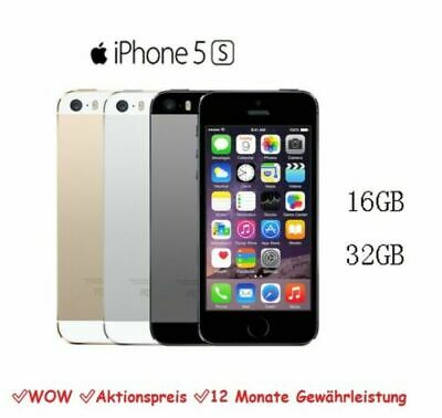 APPLE iPHONE 5S 16GB / 32GB - Unlocked / EE / O2 / Voda Smartphone Mobile