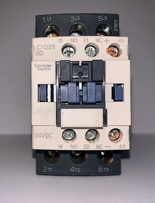 New!!! Schneider Electric Contactor (#LC1D25BD W/LAD4TBDL)