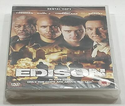 Edison (2007) DVD PAL Region 2 (Rental Copy) New Sealed - Fast Free Delivery