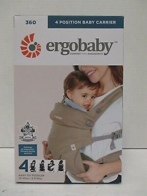 Ergobaby 4 Position 360 Baby Carrier - Moonstone - 12-33 Lbs - Rc 9149