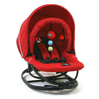 Valco Baby Newborn Red Reclining Seat Rocking & Stationary + Gyro Rocker Chair