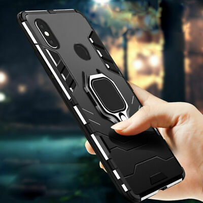 For Xiaomi Mi A1 A2 8 3 SE Lite Hybrid Magnetic KickStand Ring Holder Case Cover