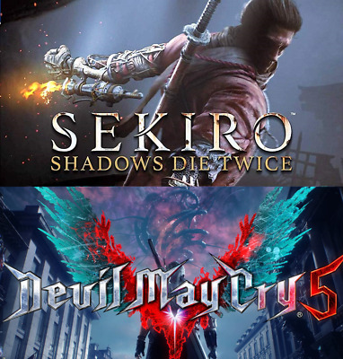 ⭐SALE⭐Sekiro: Shadows Die Twice + Devil May Cry 5 +TOP GAMES |OFFLINE STEAM (PC)
