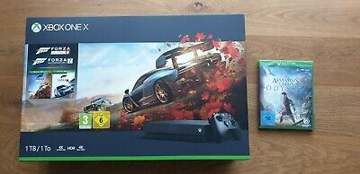 Xbox One X 1TB Konsole Forza Horizon 4 + Motorsport 7 + Assassin's Creed Odyssey