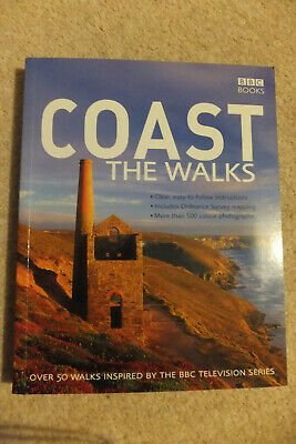 Coast The Walks BBC Book Paperback Over 50 walks Excellent Condition