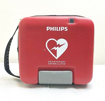 Philips Fr3 Defib Aed Heartstart + 2022 Battery + New 03/2021 Pads + Child Key