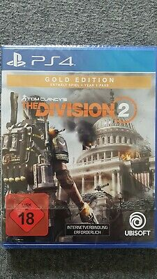 The Division 2 Gold Edition - PS4 USK 18 NEU in OVP