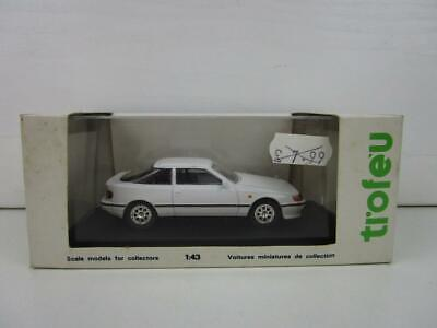 Trofeu 1:43 Scale Toyota Celica GT4 White Model Car in Perspex Case and Boxed