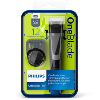 Philips OneBlade PRO Rechargeable/Cordless Beard/Hair Trimmer/Shaver w/ 3 Heads