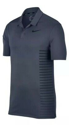 29534b57 Nike Men's Size Medium Dry Momentum Golf Polo Shirt 890091 471 Thunder Blue