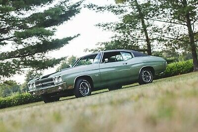 1970 Chevrolet Chevelle SS 396 2014 Frankenmuth Michigan winner in Collector Quality Class
