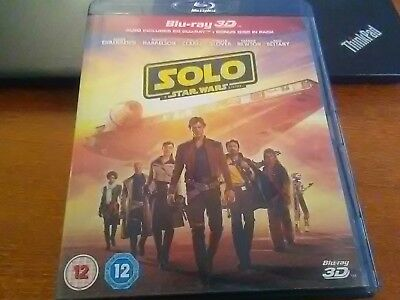 Solo : A Star Wars Story  blu-ray 3D + blu-ray + Blu-ray Bonus complet et neuf