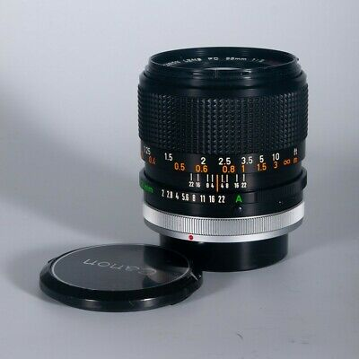 Need some focus? Try this Canon 35mm f2 SSC FD-Mount Prime - great for Video!