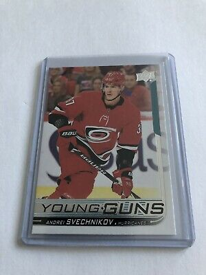 2018-2019 Upper Deck Andrei Svechnikov Young Guns Crazy RC Rookie Wow Awesome