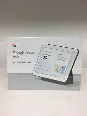 NEW SEALED - Google Home Hub with Google Assistant  GA00515-US - Charcoal