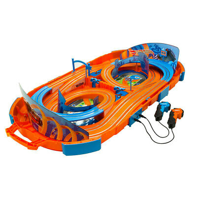 Hot Wheels 1:64 Slot Racing Car Track Set/Remote Control Kids Toys 5y+