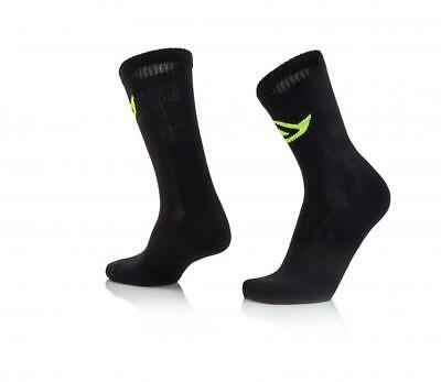 Short motorcycle socks above ankle Black Acerbis COTTON 0022491.090 CA