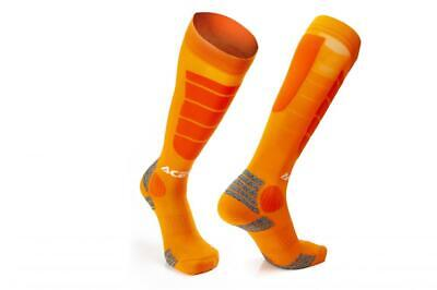 Motocross socks high Orange Acerbis MX IMPACT 0021633.010 US