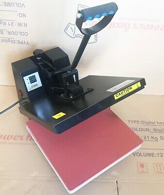 Digital Clamshell Heat Press Transfer T-Shirt Sublimation Machine 15 x 15 DGR