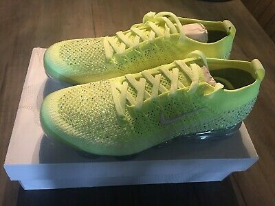 2434a76a2ae0c Nike Vapormax Flyknit 2 LXX Swarovski Volt AT5673-700 Womens Size 10   Mens  8.5